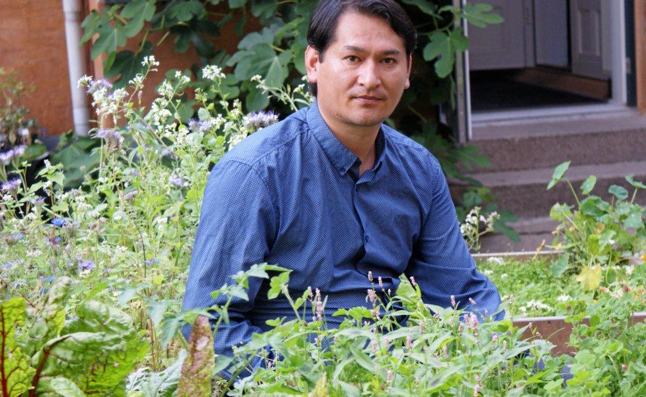 Som iransk flygtning i Danmark har Mohammad Yasin Ahmadi oplevet kirkens gæstfrihed på helt nært hold. Privatfoto.