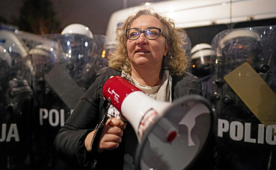 Marta Lampard er frontperson i organisationen Kvinders Strejke, der de seneste fem år har organiseret store demonstrationer for abort-, kvinde - og lgbt+ rettigheder i Polen.