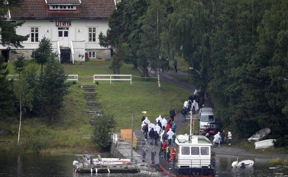 Unge danske socialdemokrater var ikke på øen Utøya under massakren ved et rent tilfælde. (Arkivfoto)