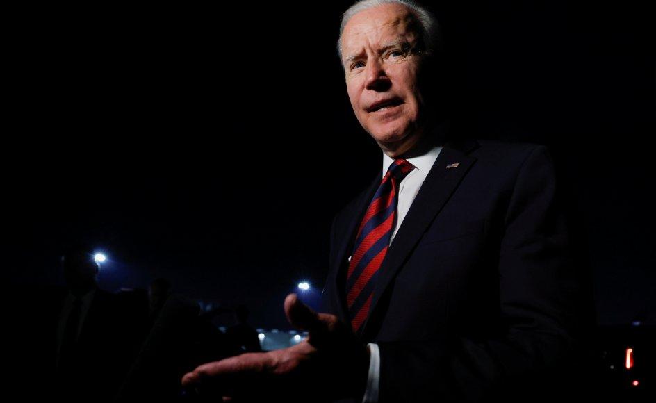 Joe Biden rejste onsdag til Cincinnati for at deltage i en såkaldt town hall med CNN.