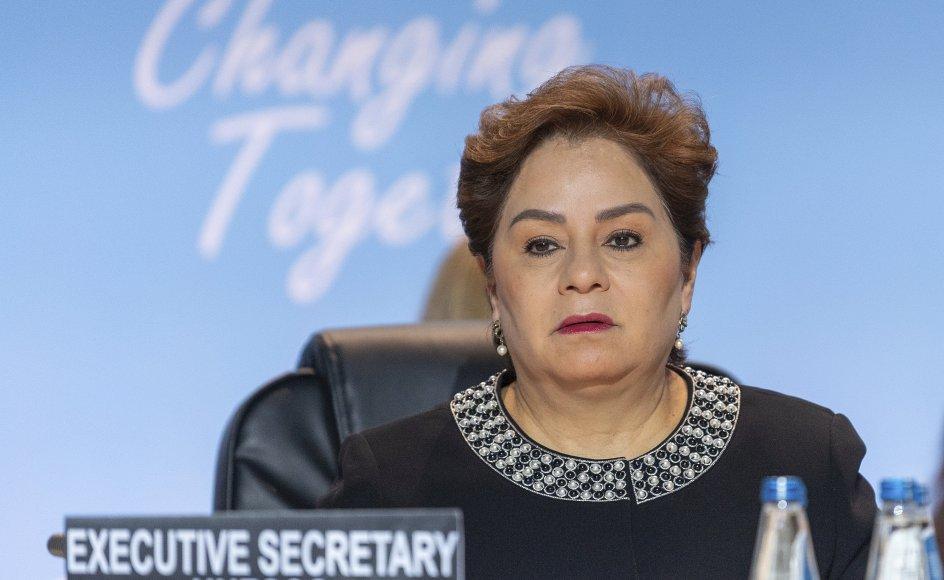 FN-klimachef Patricia Espinosa mener, at nylige hedebølger og oversvømmelser, som er fundet sted rundtom i verden, viser, at der er brug for markant handling på klimaområdet. (Arkivfoto).