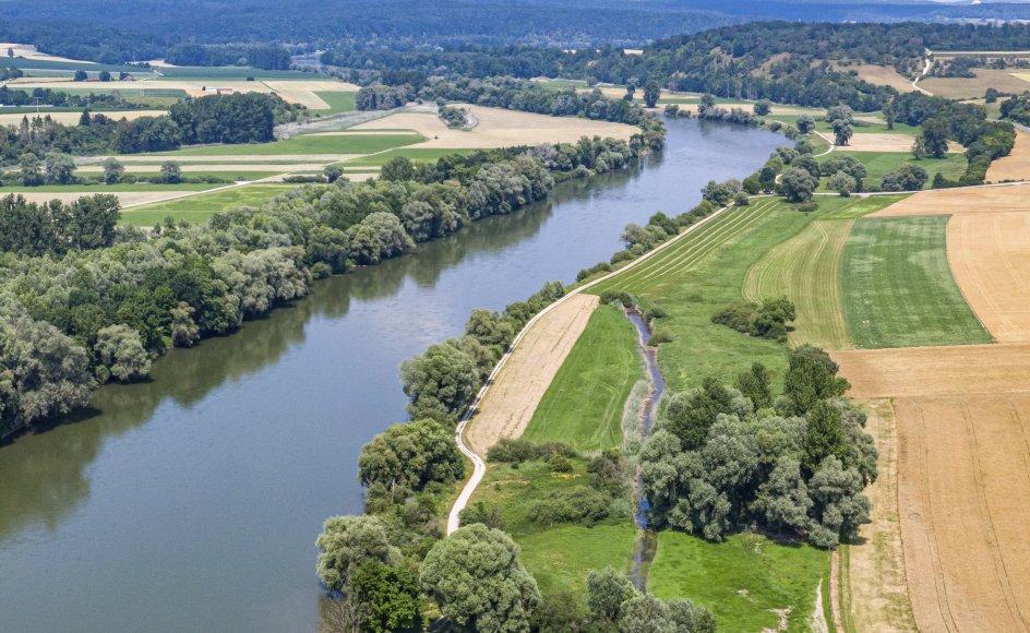 Floden Donau udgjorde en del af Romerrigets grænser. Knap 600 kilometer af denne gamle grænse er nu føjet til Unescos liste over verdensarv. Her er det i Kelheim-distriktet i det sydlige Tyskland. (Arkivfoto)