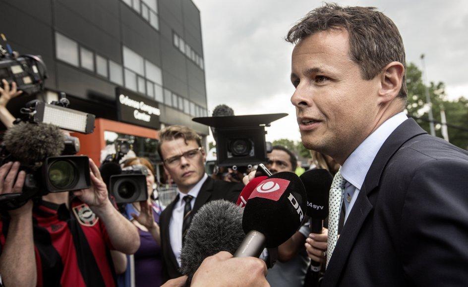Det er en stor profil i Venstre igennem mange år, som Dorte West nu overtager borgmesterposten fra. (Arkivfoto).