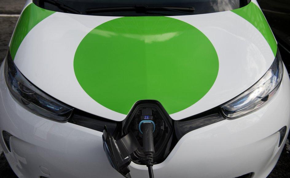 Bilsalget i juli måned havde høje salgsandele af både elbiler og plug-in-hybrid, der tilsammen udgjorde 32 procent af salget. (Arkivfoto)