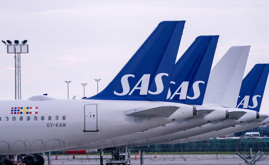 Søndag er det 75 år siden, at SAS blev dannet af tre skandinaviske luftfartsselskaber. (Arkivfoto)