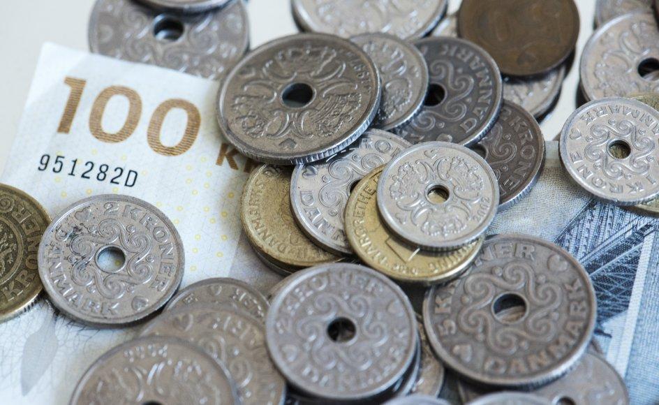 Mængden af kontanter i samfundet er steget med 13 procent, skriver Finans. (Arkivfoto).