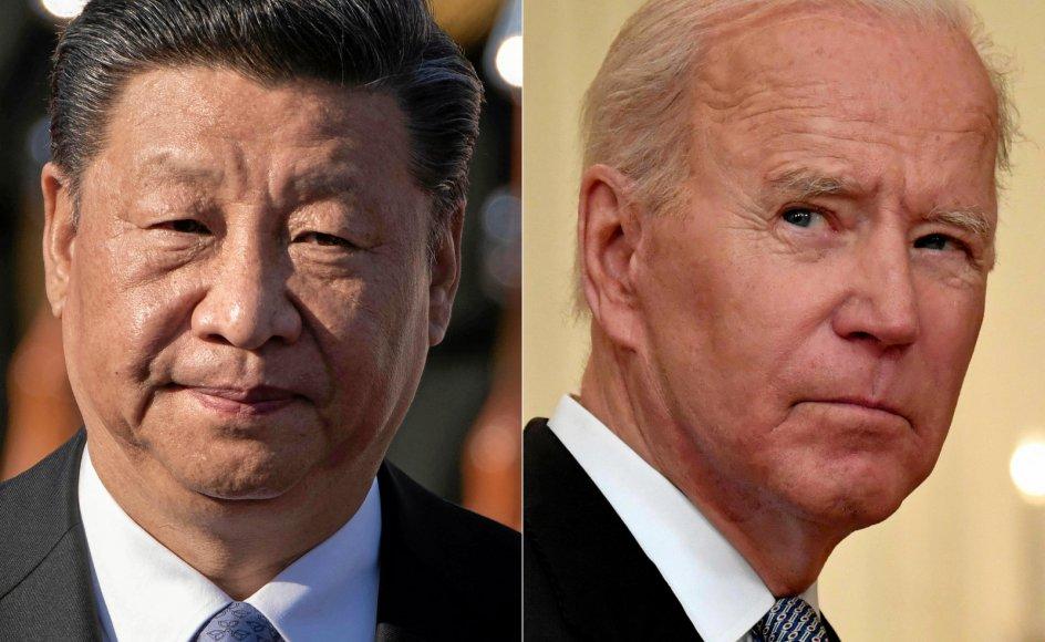 Udtalelser fra både Kinas Xi Jinping og USAs præsident Biden og understreger de to landes tiltagende rivalisering. Men en storkrig er fortsat usandsynlig, vurderer professor og Kinaforsker.