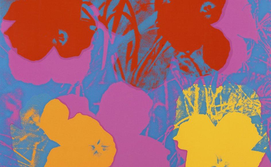 "Andy Warhol, ""Flowers"", 1970."