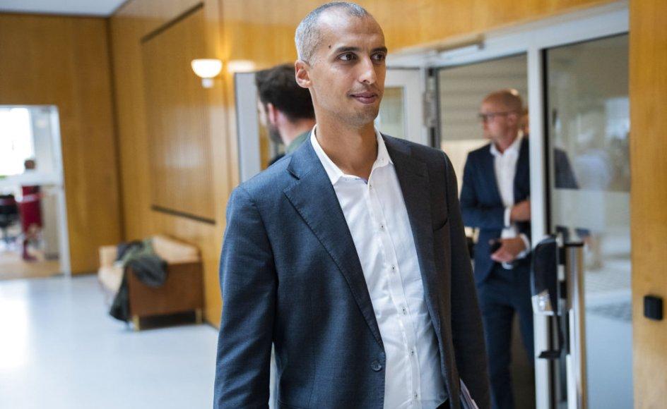 """Udlændinge- og integrationsminister Mattias Tesfaye (S) mener, at Danmark skal kunne udvise kriminelle udlændinge i """"videst muligt omfang""""."""