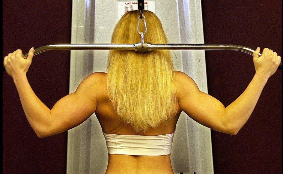 SDU Fitness kom mandag i modvind på grund af forbud imod træning i bar mave. Tirsdag aften melder foreningen nu ud, at de vil tillade medlemmer at træne i sports-bh. (Arkivfoto)
