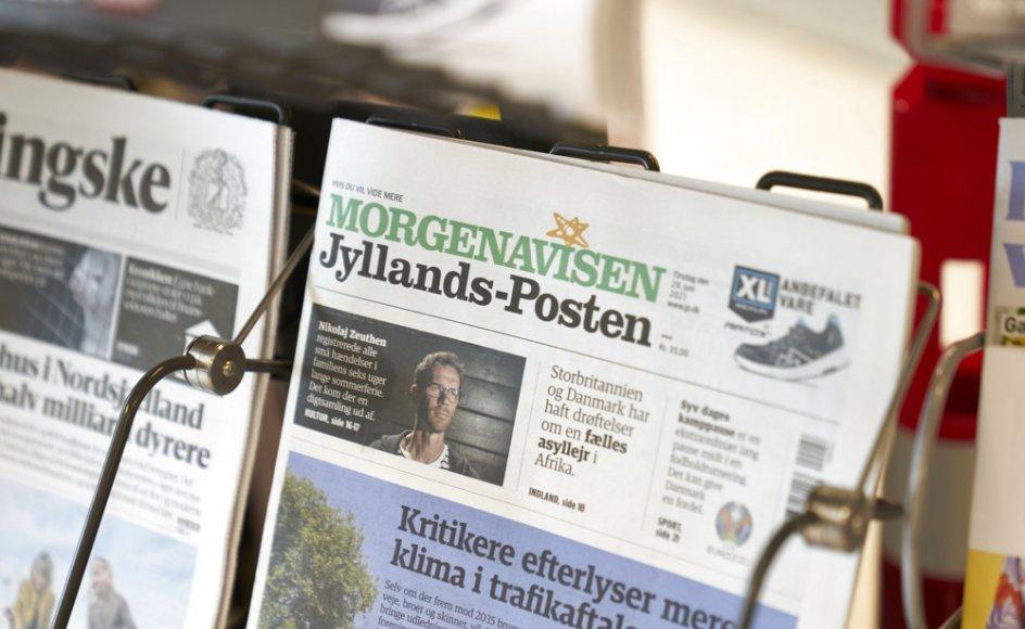 Jyllands-Posten udvider med fire nye lokalredaktioner i Vejle, Horsens, Viborg og Randers. (Arkivfoto)