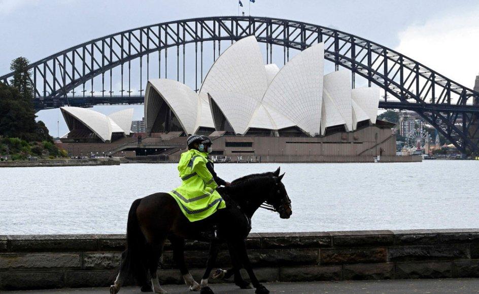 Et udgangsforbud i dele af storbyen Sydney bliver ophævet onsdag. (Arkivfoto)