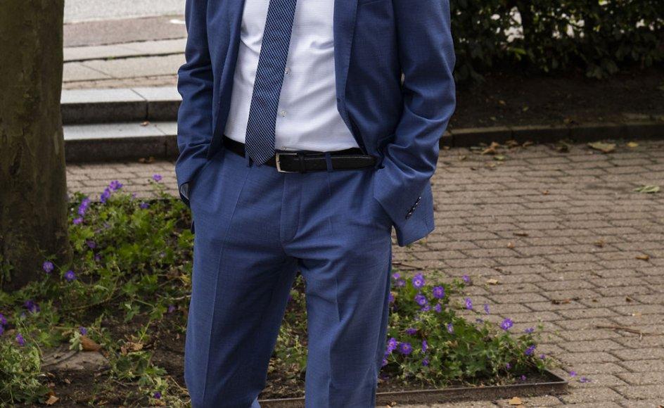 Efter to år med dårlige meningsmålinger skal Dansk Folkepartis formand, Kristian Thulesen Dahl, i weekenden igen forsøge at tage optimisme og tro ind i partiet, når det holder årsmøde. (Arkivfoto)