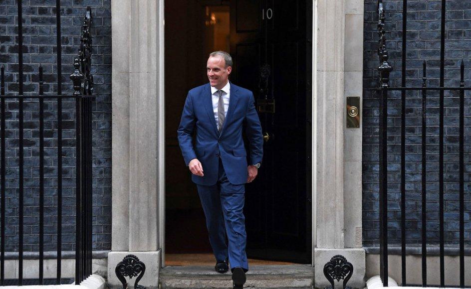 Den britiske premierminister, Boris Johnson, har ifølge BBC gjort sin udenrigsminister, Dominic Raab, til justitsminister.