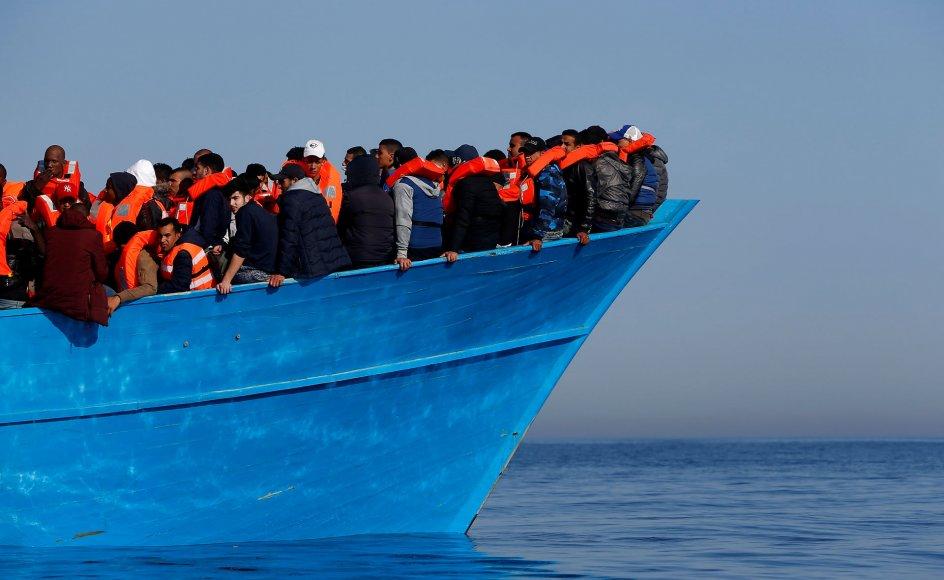 FN's Internationale Organisation for Migration har foreløbig talt 813 dødsfald i år. Arkivfoto.