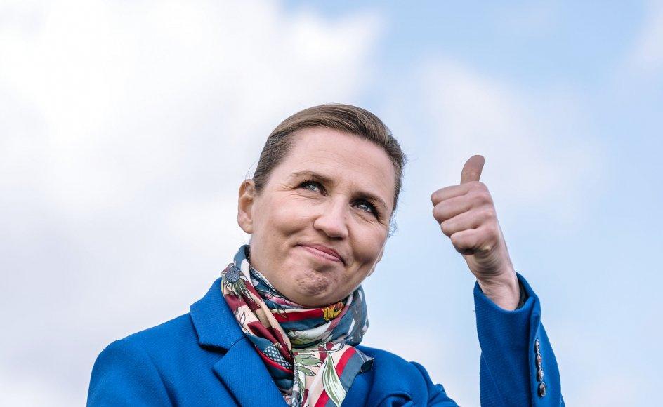 Borgerne har for eksempel givet statsminister Mette Frederiksen (S) karakteren 8,9 på en skala fra 0 til 10.