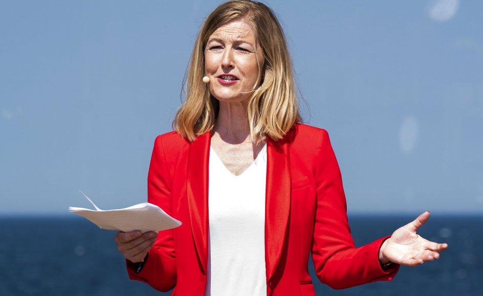"""Sofie Carsten Nielsen sagde blandt andet, at det """"ikke var helt forkert"""", at hun var blevet træt af regeringen, og at den """"trækker i alle mulige forkerte retninger."""""""