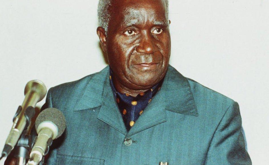 Zambias første præsident, Kenneth Kaunda, døde sidste uge 97 år. Kaunda var landets første præsident efter uafhængigheden fra Storbritannien og regerede fra 1964 til 1991. Foto: Uncredited/Ritzau Scanpix