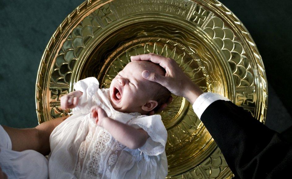 En opgørelse fra Danmarks Statistik lavet i år viste en landsdækkende dåbsprocent på 55,6. I Københavns Stift var den nede på cirka 35 procent.