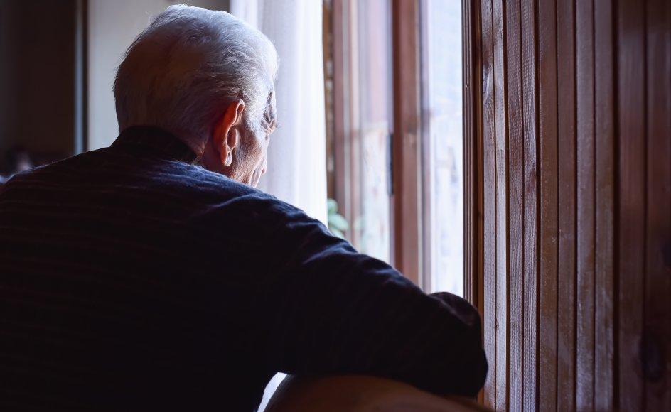 """""""Min far lider af Alzheimers sygdom, hvilket indtil videre først og fremmest betyder, at han ikke holder sine tanker, meninger og følelser tilbage."""" Arkivbillede."""