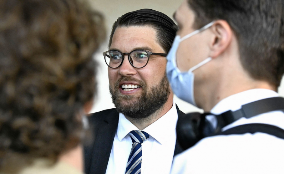 Sverigedemokraternes forslag om en mistillidsvotum til statsminister Stefan Löfven blev vedtaget i mandags. Afstemningen var et vigtigt skridt på det nationalkonservative partis vej mod at blive anerkendt som et parti, man kan samarbejde med. – Foto: Claudio Bresciani/AFP/Ritzau Scanpix.