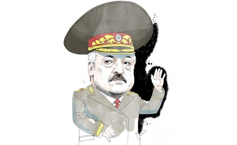 """Den 66-årige Lukasjenko, præsident siden 1994 og ofte betegnet som """"Europas sidste diktator"""", er blevet en stadig større torn i øjet på Vesten."""