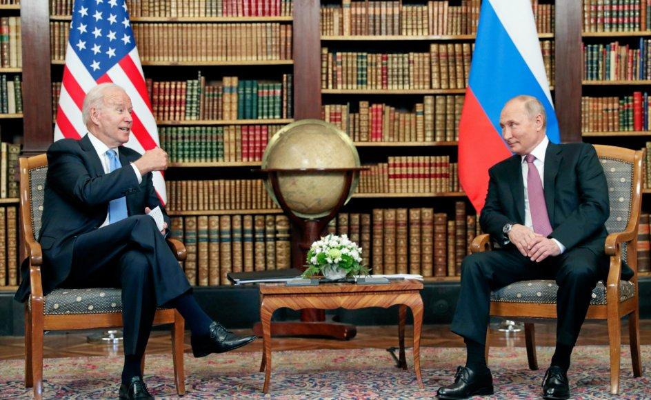 Amerikanske Joe Biden har netop afsluttet sin første Europa-turné. Her mødte den amerikanske præsident blandt andre russiske Vladimir Putin.